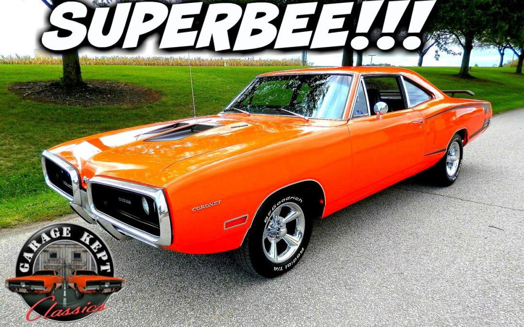 1970 Dodge Coronet Super Bee Tribute