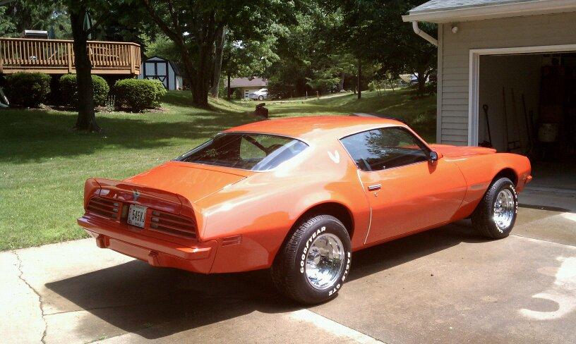 1974 Pontiac Trans Am 455