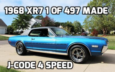 1968 Mercury Cougar XR7    4 Speed J-Code